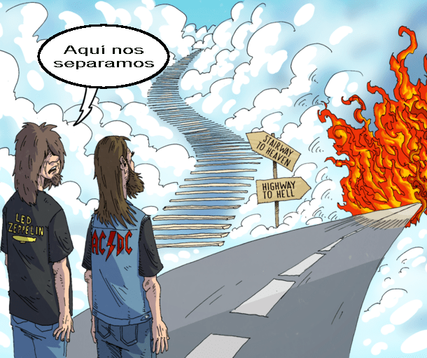 Stairway to Heaven - Highway to Hell