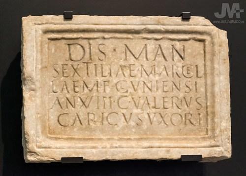 Lapida romana Talavera (Museo Arqueológico Nacional)