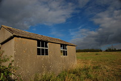 concrete shed