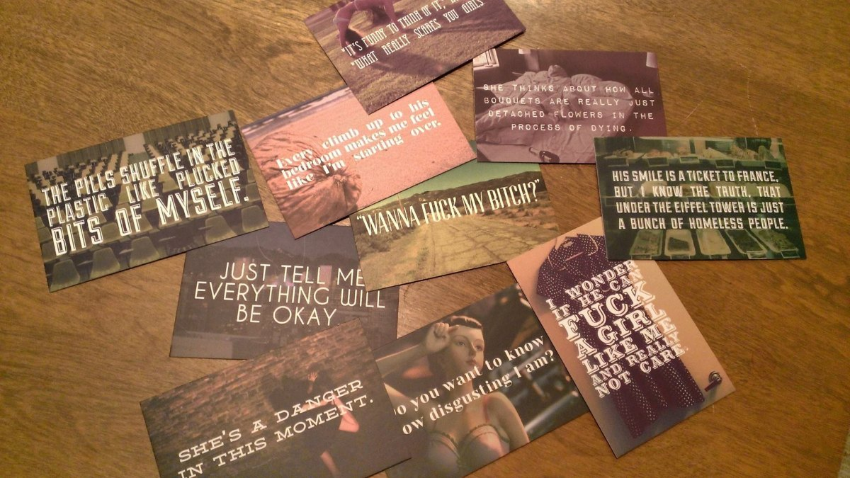 VILE MEN Promo Cards