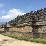 visiting the Borobudur Temple