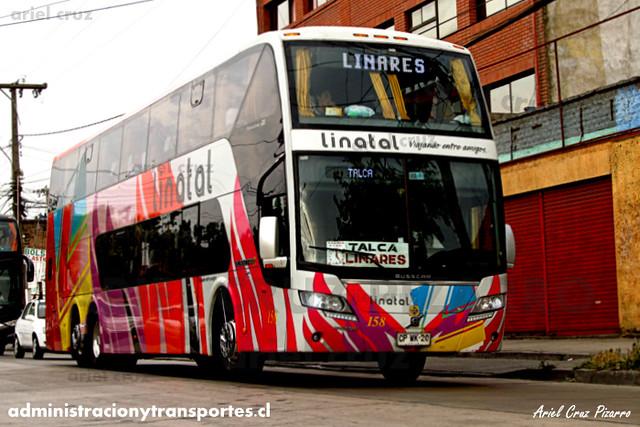 Linatal - Santiago - Busscar Panorâmico DD Elegance / Volvo (CPWK20) (158)