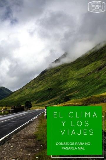 los viajes y el clima pinterest