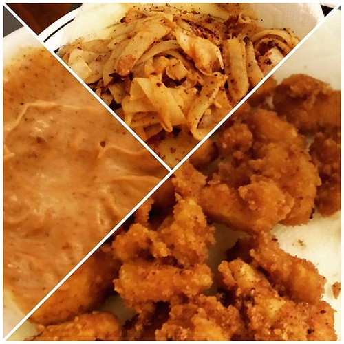 Keto dinner! Pickle juice brined chicken with a pork rind crust, sliced and spiced jicama, and homemade Chipotle aioli. #ketodiet #keto #ketogenic #ketogenicdiet #lowcarbdiet #lchf #lchflife #weightloss #transformation