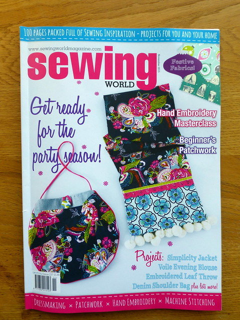 Nov15 issue Sewing World