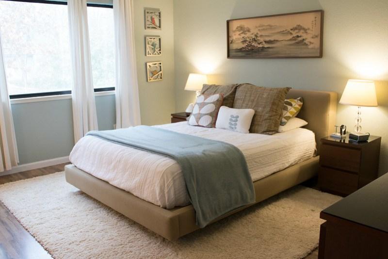New bedroom rug!