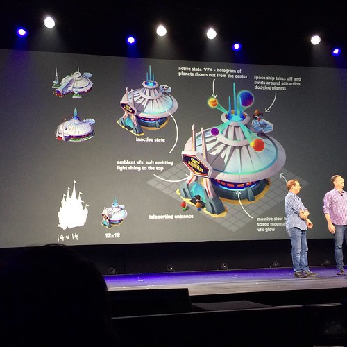 モバイルゲームの「Disney Magic  kingdom」。