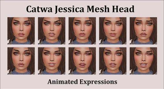 Catwa Jessica Mesh Head