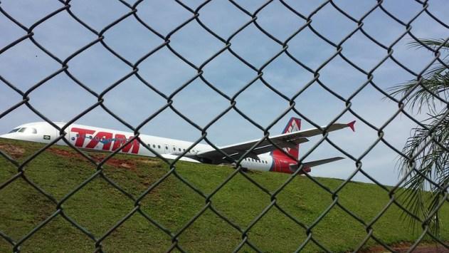 A típica pontinha de asa da Airbus