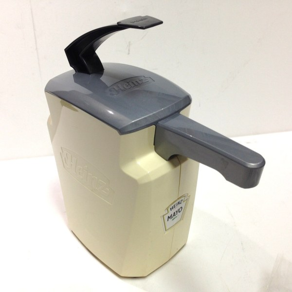 Heinz Keystone 1.5 Gal Condiment Pump Dispenser - Mayo
