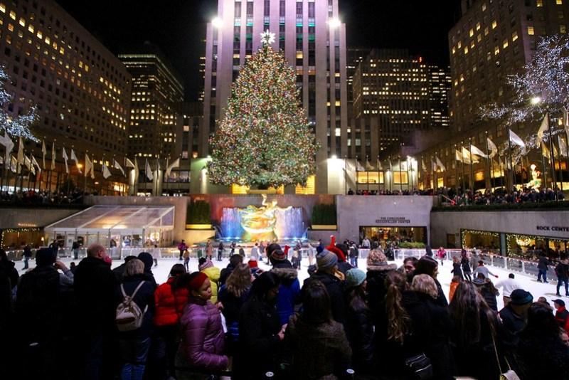Rockefeller Center Christmas Tree Lighti