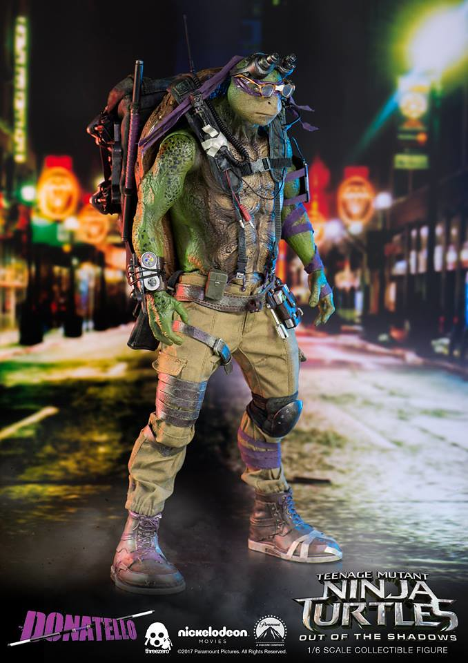 threezero 忍者龜:變種世代【李奧納多】Leonardo 1/6 比例人偶作品 | 玩具人Toy People News
