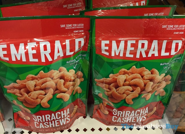 Emerald Sriracha Cashews