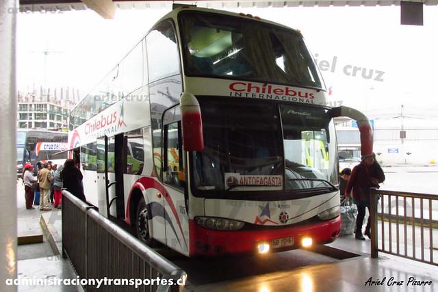 Chilebus Internacional - Antofagasta - Marcopolo Paradiso 1800 DD / Scania (BDYD57)