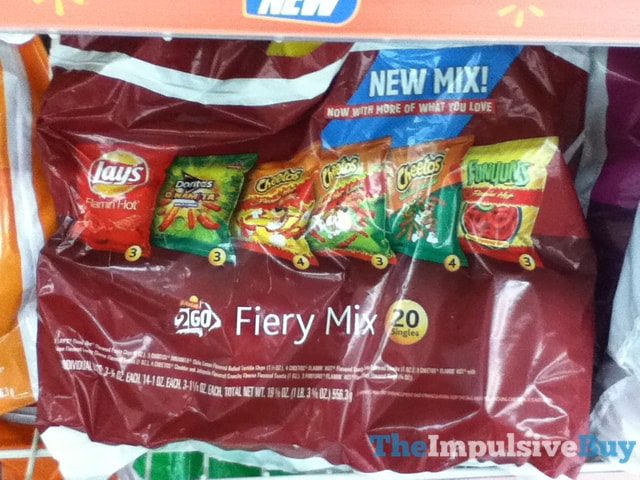 Frito-Lay 2 Go Fiery Mix