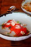 Rice Wine Cured Ocean Trout, Pickled Fennel, Ginger and Soy Sauce $16. The Rice Den, St Leonard': Sydney Food Blog Review