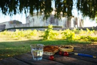Prieuré de Salagon: picnic