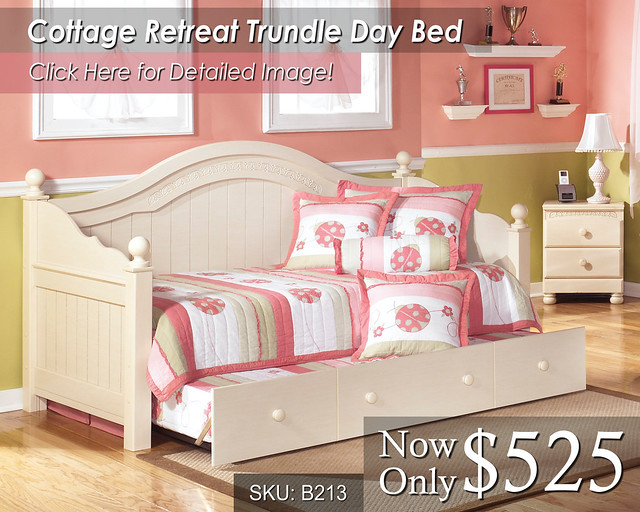 Cottage Retreat Trundle Day Bad