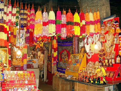 A Shop inside Temple