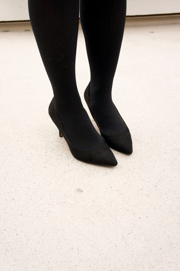 H&M Pointy Toed Black Pumps