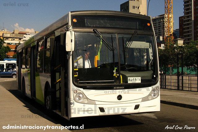 Transantiago - Buses Vule - Caio Mondego H / Mercedes Benz (BJFR74) (01)