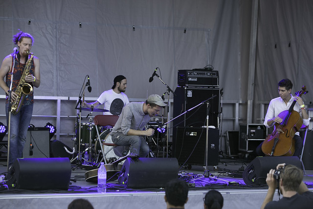 Saxsyndrum/Year of Glad @ Arboretum Festival 2015