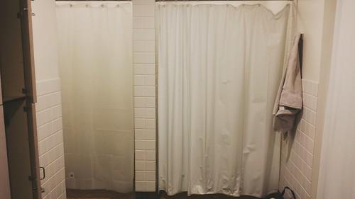 locker room shower etiquette