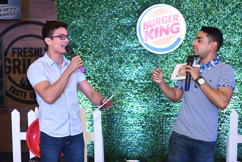 Tom Rodriguez with Sam YG