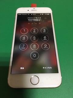 227_iPhone6Sのフロントパネルガラス割れ