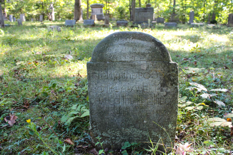 18th Century Tombstone