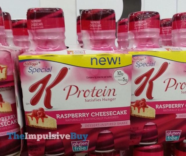 Special K Raspberry Cheesecake Protein Shake
