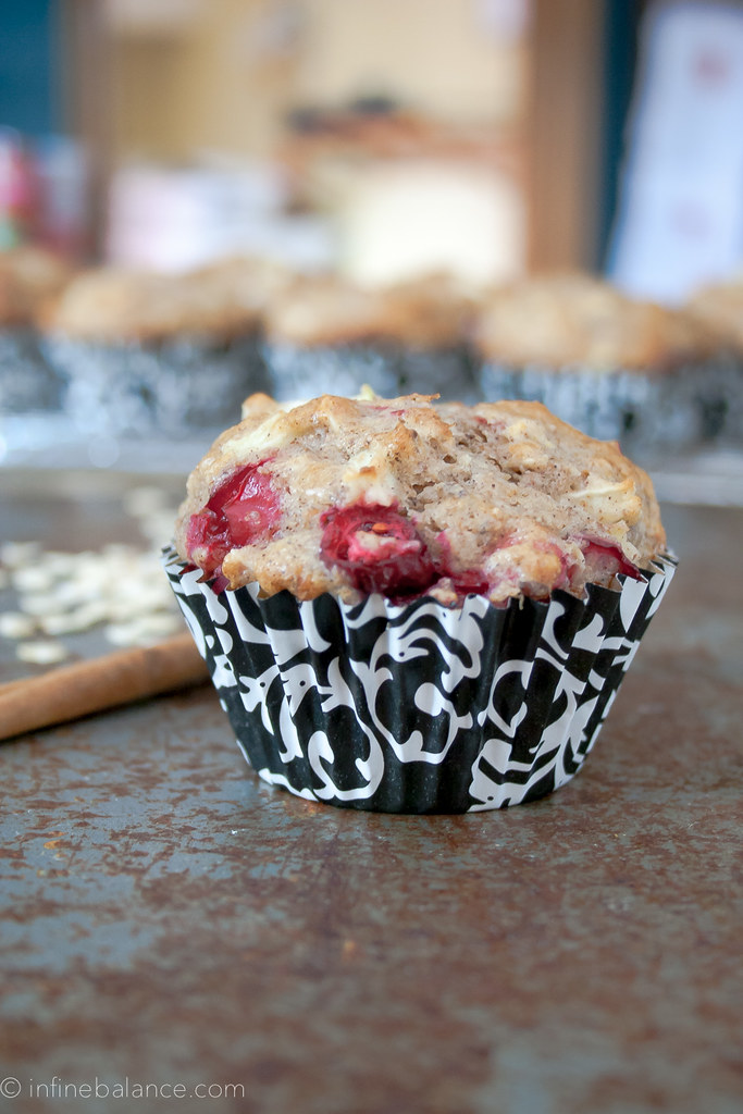 Cranberry Apple Muffins yogurt winter school-safe puppy oats oatmeal nut-free Muffins holiday eggs cranberry cinnamon brunch Breakfast apple