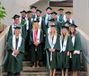 UH Manoa student-athletes celebrated at the fall 2016 commencement ceremony on December 17 at the Stan Sheriff Center.