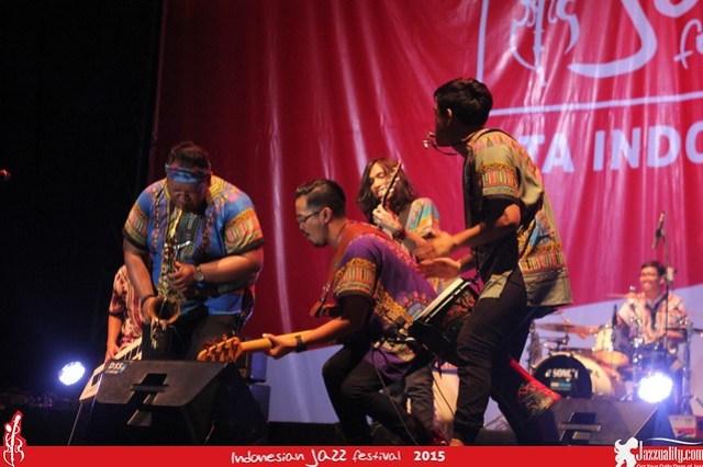 Indonesian Jazz Festival 2015 - Bag + Beat(2)