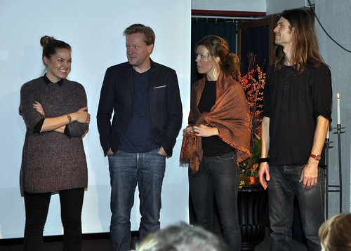 Maja Daniels, Per-Anders Pettersson, Åsa Sjöström och Jan Nordström