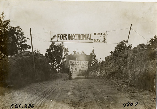 1909 Anderson SC Good Roads Banner 2