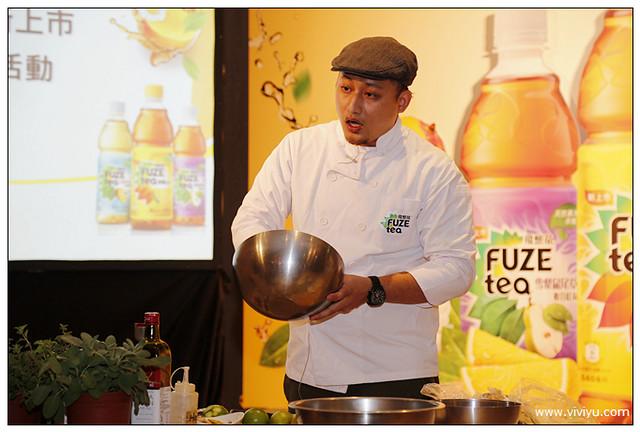 [活動]可口可樂公司新品牌「FUZE tea」飛想茶新上市.果汁混搭西方茶飲~檸檬紅茶、雪梨鼠尾草複合紅茶、芒果洋甘菊複合綠茶 @VIVIYU小世界