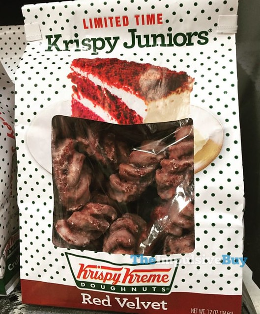 Limited Time Krispy Kreme Red Velvet Krispy Juniors