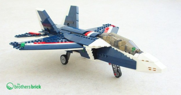 Lego Creator Blue Power Jet 31039 Review The Brothers Brick