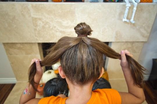 DIY Spider Hair