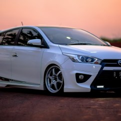 Toyota Yaris Trd Putih All New Corolla Altis 2019 Gettinlow Modifikasi 2014 Milik Nasrul Dari