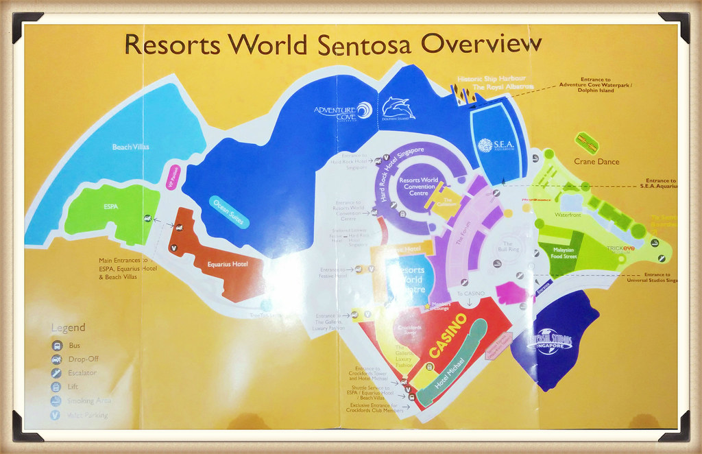 RWS Sentosa Map - travel.joogo.sg
