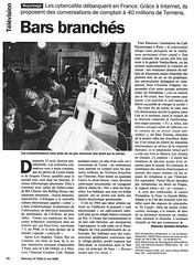 Bars Branchés, Télérama mai 1995