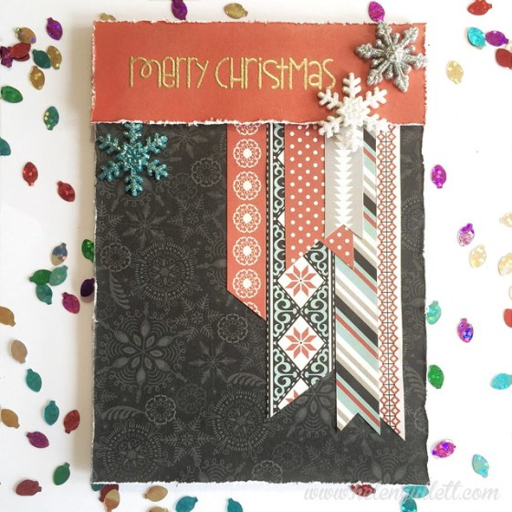 Merry Christmas | http://helengullett.com/?p=7378 #ctmh #snowhaven #handmadecard #cardmaking #papersmooches #michaels #christmascard #creatingjoyfully