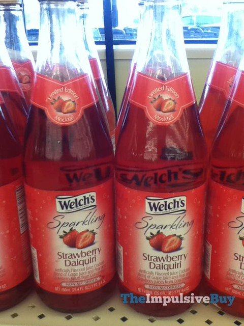 Welch's Sparkling Strawberry Daiquiri Limited Edition Mocktail