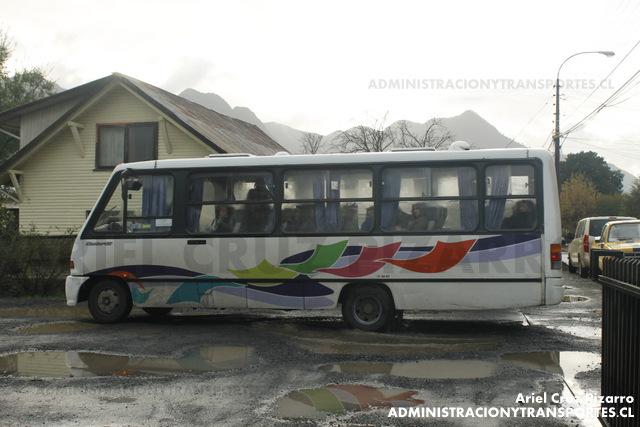 Buses Caburgua - Pucón - Marcopolo Senior / Mercedes Benz (TF2698)