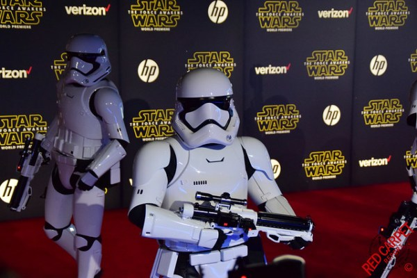World Premiere of Star Wars: The Force Awakens Red Carpet #StarWars