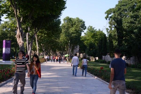 トプカプ宮殿の第1内庭