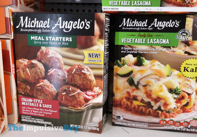 Michael Angelo's Italian-Style Meatballs & Suce Meal Starters