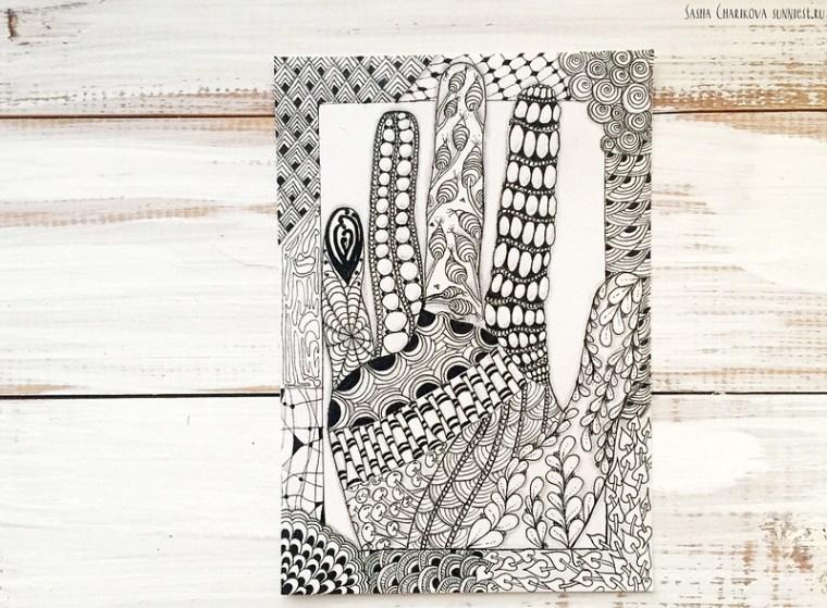 Zenart - My hand: 4 домашняя работа paintmoscow.ru